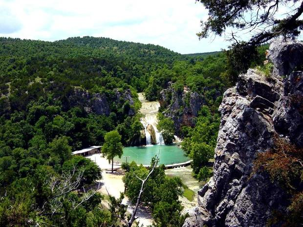 Turner Falls<br/><b>Community Photo By:</b> Eldon Harris<br/><b>Submitted By:</b> Eldon, Bethany
