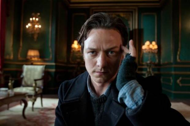 James McAvoy as Professor X.