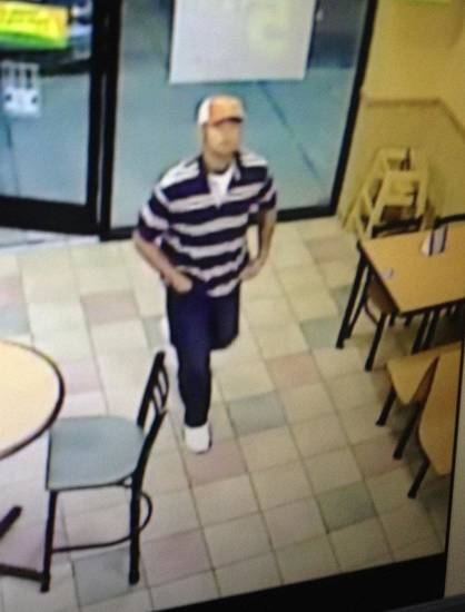 Oklahoma City police are looking for a man who robbed a Subway restaurant at 2815 NW 10 on Sunday. <strong>PROVIDED</strong>