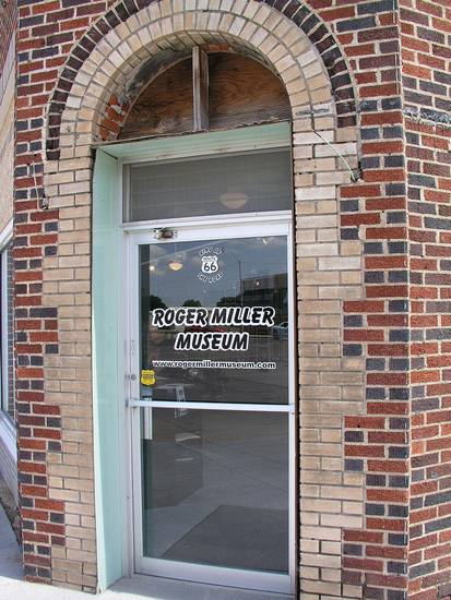 The entrance to the Roger Miller Museum is seen in Erick.    Photo by Ron Stahl <strong></strong>