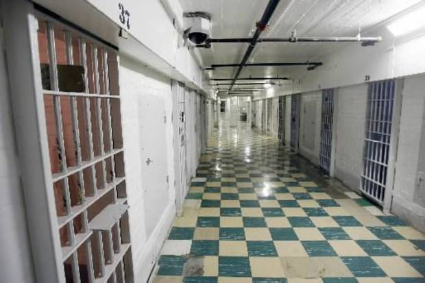 File photo of a cell block in the original building of the Oklahoma State Penitentiary in McAlester. Photo by Paul Hellstern