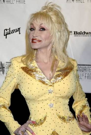 Singer, actress Dolly Parton