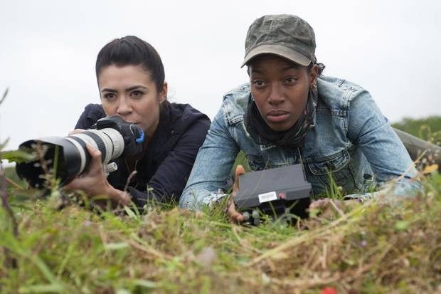 Michelle Lukes (l.) and Milauna Jackson (r.) - Photo by Liam Daniel/Cinemax