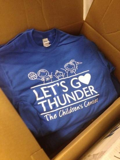 Every employee at The Children's Center in Bethany, Okla. got one of these shirts. (via @melprgirl)