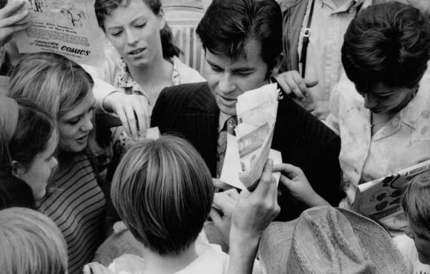 American Bandstand's Dick Clark visits Teen Town at the State Fair in Oklahoma City Sept. 22, 1969. Tony Wood, The Oklahoman <strong>Bob Albright</strong>