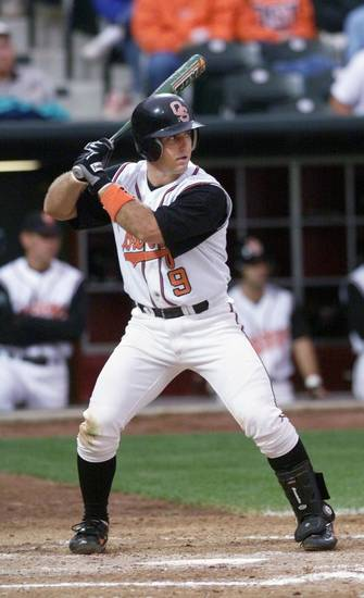 Former OSU baseball player Josh Holliday is shown in 1999. OKLAHOMAN ARCHIVE PHOTO <strong>STEVE GOOCH</strong>