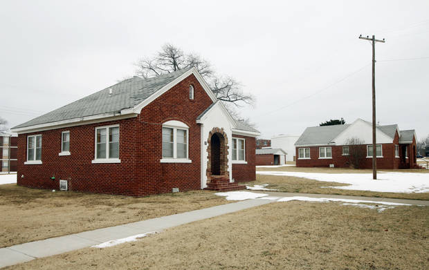 Cottages on the Langston University campus, as seen in January 2010. <strong>Steve Gooch - The Oklahoman Archives</strong>