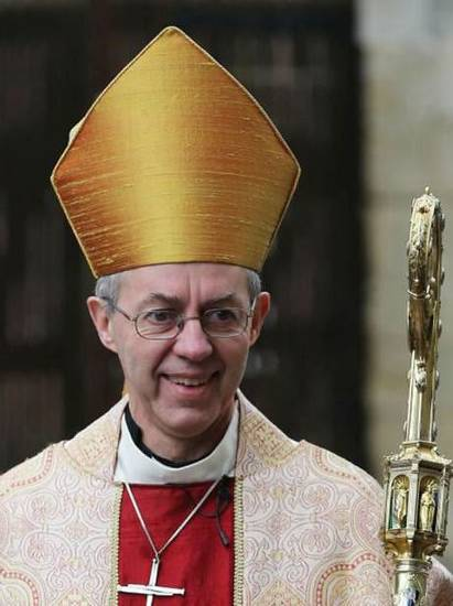 Archbishop of Canterbury Justin Welby Photo provided <strong></strong>