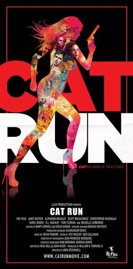 Cat Run movie poster