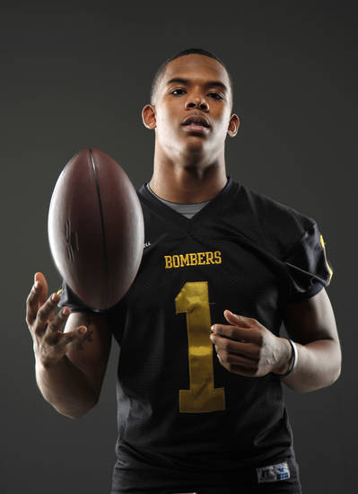 HIGH SCHOOL FOOTBALL: All-State football player Ricky Reeves, of Midwest City, poses for a photo in Oklahoma CIty, Wednesday, Dec. 14, 2011. Photo by Bryan Terry, The Oklahoman