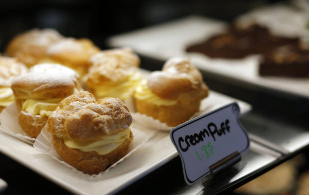 Sweets from a bakery at the culinary arts program at  Francis Tuttle Technology Center are pictured.   Photo by Sarah Phipps, The Oklahoman <strong>SARAH PHIPPS - SARAH PHIPPS</strong>