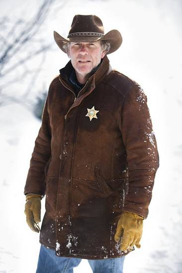 "Robert Taylor stars in A&E's hit drama  series ""Longmire"" - Photo Credit: Adam Rose/A&E"