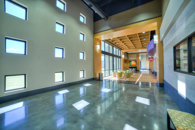 Natural light illuminates the Culinary Arts Center at Francis Tuttle Technology Center, 12777 N Rockwell Ave., designed by Bockus Payne Associates Architects.PROVIDED BY BOCKUS PAYNE ASSOCIATES ARCHITECTS/INSIGHT VISUAL MEDIA