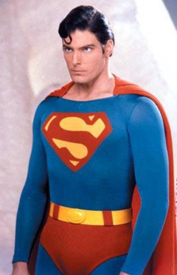 "Christopher Reeve in ""Superman II"""