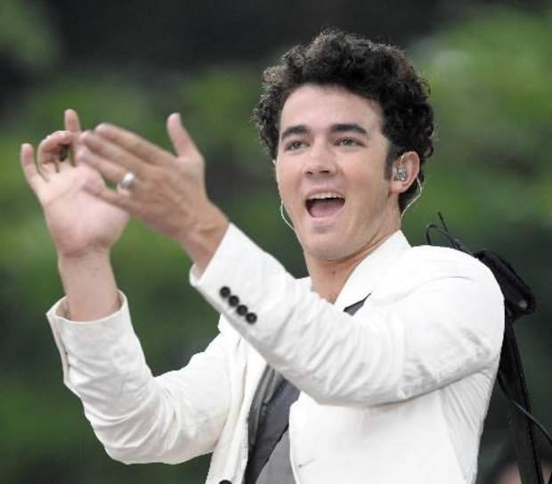 Kevn Jonas performed on &quot;Good Morning America.&quot; (AP Photo/Peter Kramer)