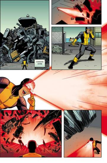 "A page from ""X-Men: Season One."" Marvel Comics. <strong>IYL</strong>"