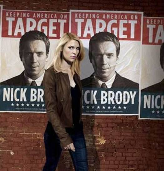 "Claire Danes stars in ""Homeland"" - Showtime Photo"
