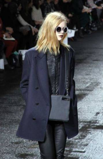 Phillip Lim's fall 2013 collection is modeled on the runway in New York. AP