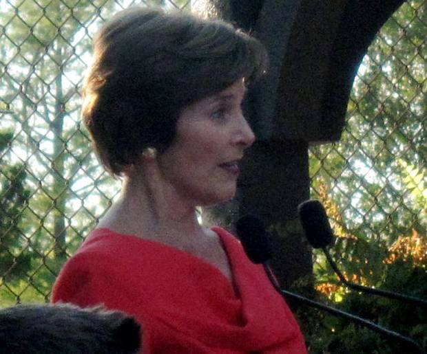 Laura Bush. (Photo by Helen Ford Wallace).