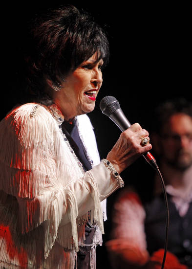 ADADEMY OF CONTEMPORARY MUSIC AT UNIVERSITY OF CENTRAL OKLAHOMA / CONCERT: Wanda Jackson performs at the ACM@UCO in Oklahoma City Friday, January 28, 2011.  Photo by Bryan Terry, The Oklahoman ORG XMIT: KOD