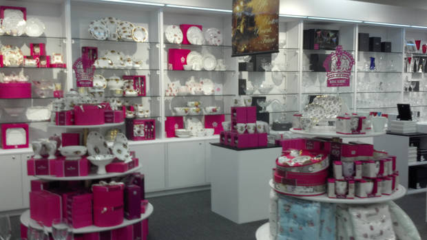 Waterford Wedgwood Royal Doulton Store opening
