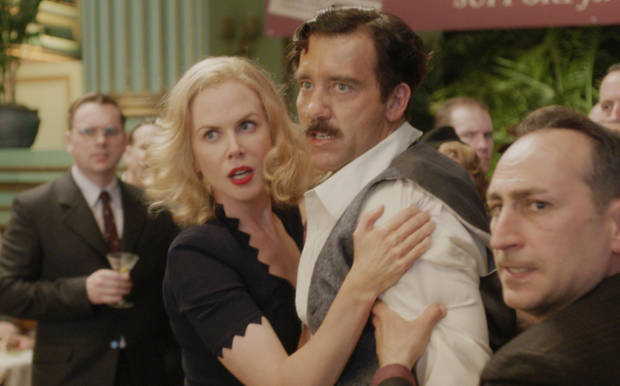"Nicole Kidman and Clive Owen in ""Hemingway & Gellhorn"" - HBO Photo"