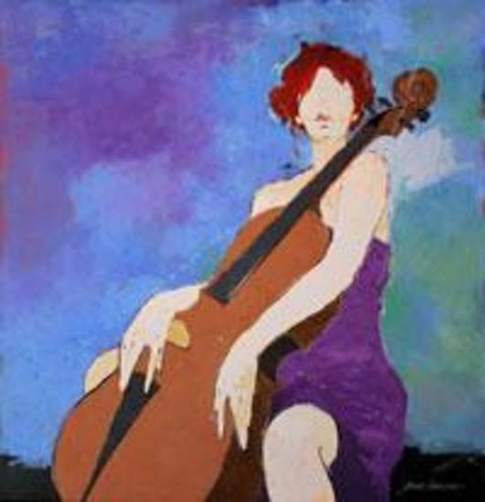"""Cellist"" by Bert Seabourn"