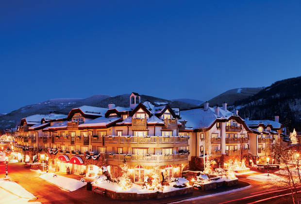 This undated photo provided by Sonnenalp, a family-owned resort in Vail, Colo., shows the resort exterior. Family-owned resorts strive to provide a personal touch in an era when many resorts are owned by large corporations. (AP Photo/Sonnenalp)