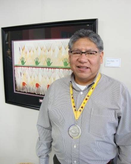 Gordon Yellowman Sr. has been named the 2010 Red Earth Honored One.