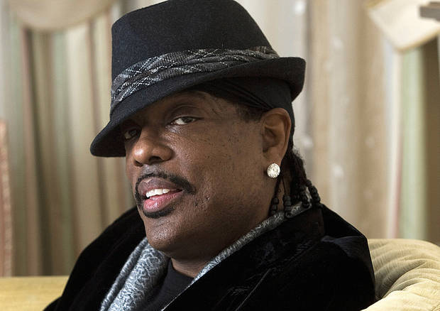 "Charlie Wilson is nominated for two Grammy's, best R&B album for ""Uncle Charlie"" and best male R&B vocal performance for ""There Goes My Baby."" AP Photo"