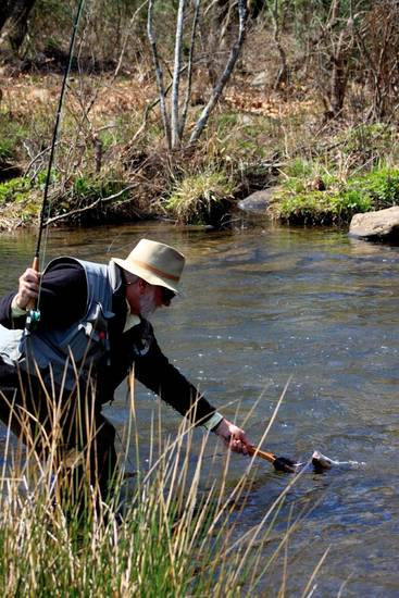 Spring fishing has been excellent on the Lower Mountain Fork River in McCurtain County.