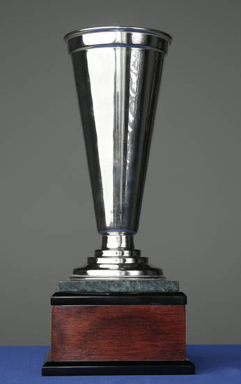 The Hunger Cup, that will be presented by Feed the Children during the Bedlam Challenge, Friday, November 9, 2012. Photo by Doug Hoke, The Oklahoman
