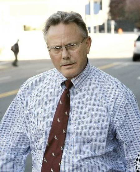 Gregory Owen leaving the Federal Courthouse in downtown Oklahoma City today. Photo by Paul B. Southerland