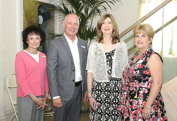 Lucy Cheatwood, Eddie Walker, Cindy Raby, Teresa Pope. PHOTO BY DAVID FAYTINGER, FOR THE OKLAHOMAN