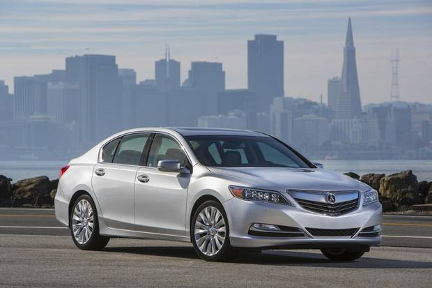 This undated image provided by Acura shows the 2014 Acura RLX. (AP Photo/Acura)