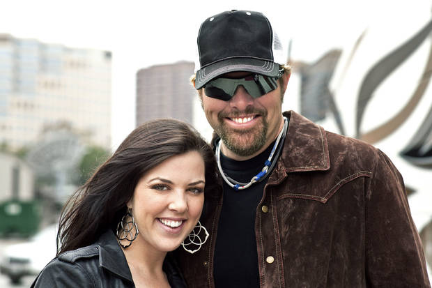 Krystal Keith and Toby Keith. Photo provided. <strong></strong>