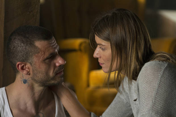 Christos Vasilopoulos and Ivana Milicevic - Photo courtesy of Fred Norris/Cinemax