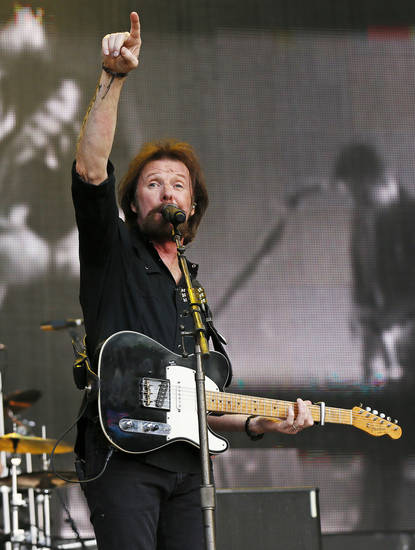 Ronnie Dunn performs during the Oklahoma Twister Relief Concert, benefiting victims of the May tornadoes, at Gaylord Family - Oklahoma Memorial Stadium on the campus of the University of Oklahoma in Norman, Okla., Saturday, July 6, 2013. Photo by Nate Billings, The Oklahoman