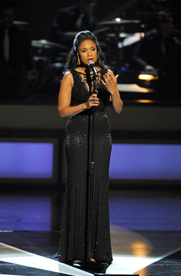 "Jennifer Hudson performs during the ""From Dust To Dreams: Opening Night at The Smith Center For The Performing Arts"" special. - Photo Courtesy of Getty Images"