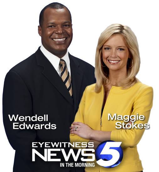 Wendell Edwards and Maggie Stokes