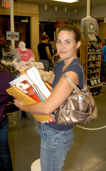 Rose State College student Kailyn Fowler, of Noble, is getting ready to go back to school. The fall semester at RSC starts August 21.<br/><b>Community Photo By:</b> Steve Reeves<br/><b>Submitted By:</b> natalie,