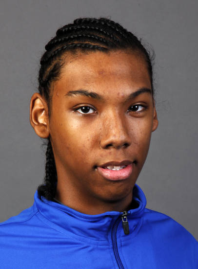 Allonzo Trier, OKC Storm boys basketball player, poses for a photo during winter high school sports photo day at OPUBCO in Oklahoma City, Wednesday, Nov. 16, 2011. Photo by Nate Billings, The Oklahoman