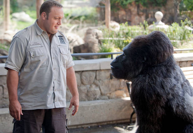 "Kevin James stars in Columbia Pictures' ""Zookeeper."""