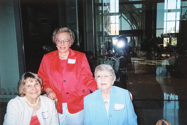 Ezell Potter, Ellen Worden, Nancy Austerman.