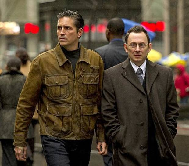 PERSON OF INTEREST is a crime thriller from J.J. Abrams about a presumed dead former-CIA agent who teams up with a mysterious billionaire to prevent violent crimes by using state-of-the-art technology and their own brand of vigilante justice.  From left to right, James Caviezel stars as Reese, who is specially trained in covert operations, and Michael Emerson stars as Finch, the wealthy software genius who invented a program that can identify people about to be involved in violent crimes.  PERSON OF INTEREST  will premiere this Fall, Thursdays (9:00-10:00 PM ET/PT) on the CBS Television Network. Photo: Jeffrey R. Staab/CBS ©2011 CBS Broadcasting Inc. All Rights Reserved