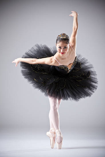 Miki Kawamura is shown as the Black Swan. Photo provided <strong></strong>