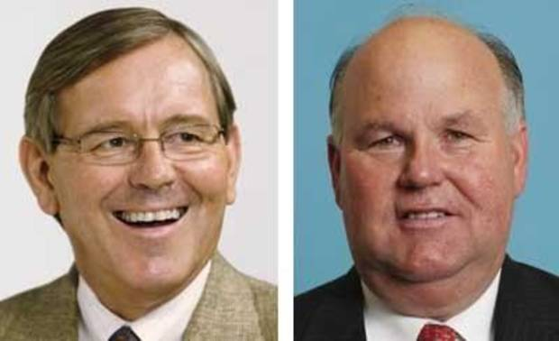 Steve Burrage <strong>Jim Beckel - The Oklahoman</strong> Gary Jones <strong>David McDaniel - AP Photo/The Oklahoman</strong>