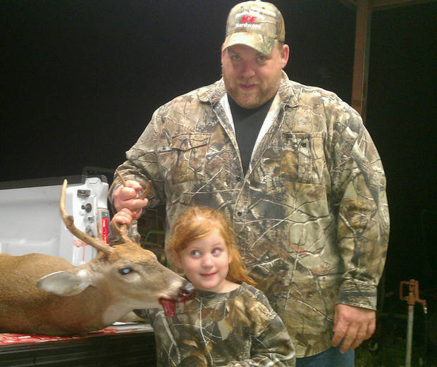 Sydney\'s 1st Deer  Sydney is 5 yrs old