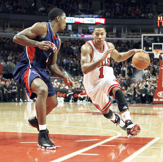 Chicago's Derrick Rose is part of a team once thought to be the future of the Eastern Conference. AP PHOTO