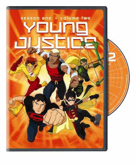 Young Justice Season One, Vol. 2 DVD